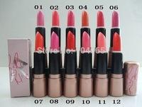 12 pcs/lot Free Shipping New Makeup RIRI Lipstick 3g,12 Colors