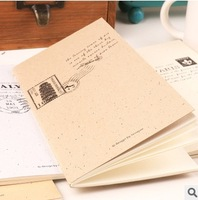 Cute Business Office Postmark Notepad Stitching Notebook Journal Diary Memo Pad Stationery Writing Supplies #NB096