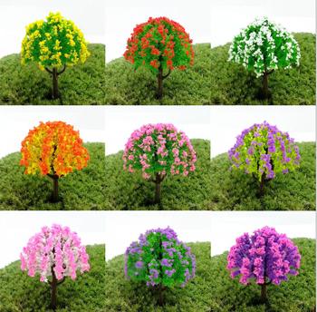 Продажа 1 шт. прекрасный мини деревья миниатюры растения волшебный сад гном мосс террариум домашнего декора ремесла бонсай домашнего декора для DIY