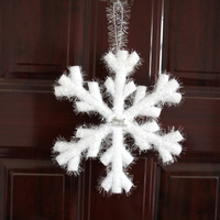 free shipping 20cm 5pcs/Lot Christmas snowflake large snow Christmas decorations