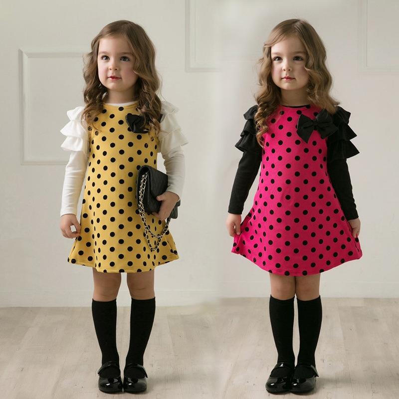 Детские платья модные 99