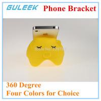 2015 NEW! GULEEK 360 Degree Pig Plastic Phone bracket for iphone/Samsung/PC-Five colors optional