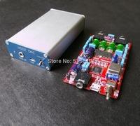 Free shipping PCM2706 DAC decoder Computer USB card TDA1305 DAC Audio decoding board