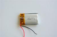 5pcs/Lot 602030 Li-Po 3.7V 320mAh  Polymer Lithium Rechargeable Battery For video camera MP4/5