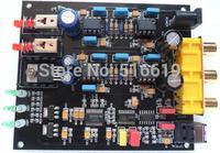 Free shipping DAC decode board PCM1798+DIR9001 + op amp OPA2134+OPA604
