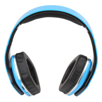 Foldable Bluetooth Wireless Micro SD Player FM Stereo Radio Headphones with Adjustable Headband