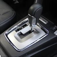 New Chrome Interior Gearshift Knob Cover Trim For Subaru Forester 2013 2014 2015