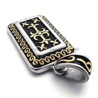 Jewerly Men's 316L Stainless Steel Titanium Party Fashion Party Rock N' Roll Pendant M075307