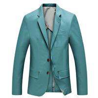 UDOD Brand Spring Summer Fashion Mens Blazers Slim Fit  Business Stylish Men's Casual Suits Jacket Cotton M L XL XXL XXXL BN8001