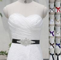 Dazzling Handmade Belt Crystal Rhinestone Beading Czech Stones Bridal Gown Sash Formal Wedding Evening Dresses Belt T112015