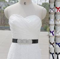 Beautiful Handmade Belt Crystal Rhinestone Pearl Beaded Czech Stones Bridal Gown Sash Formal Wedding Evening Dress Belt T52015