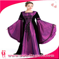 Free shipping adult medieval sexy burlesque showgirl clubwear costume for women