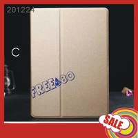 Slim Sand Pattern Smart Magnetic PU Leather Case Folding Stand Cover for iPad Air 2 /ipad 6