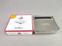 (Fortune smoking) Pyramid cigarette box cigarette case cigarette box tobacco box spot wholesale of metal