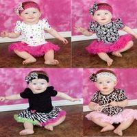 Lovely Baby Toddler Girls Ruffles Tutu skirt Romper One-Piece Outfit Dress 0-12M