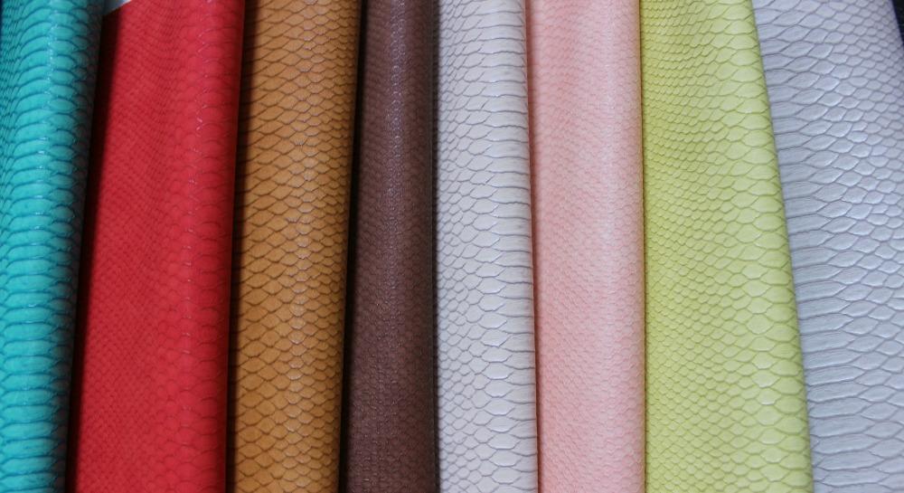 Italy snake pattern pu leather snakeskin wholesale/ snake skin handbag/ snakeskin fabric/ textile leather sofa(China (Mainland))