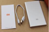 100pcs  Ultra Sim xiaomi Power bank 5000mAh  Silver xiaomi portale battery 5000mah  For samsung s4 s5 note4