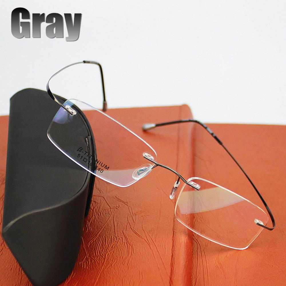 2015 New Titanium Brand Silhouette Glasses Frame Eyeglasses Men women With Original Case Oculos de grau