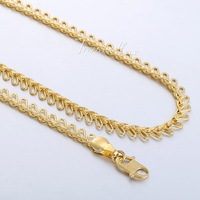 4.5MM Oval Link Womens Chain Ladies Girls 18K Yellow Gold Filled GF Necklace Wholesale Jewelry High Quality Jewellery Gift GN361