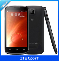 Brand ZTE Q507T 4.5 inch 4G Android 4.4 Screen SmartPhone MT6582 Quad Core 1.3GHz ROM 4GB RAM 512MB 5.0MP Single SIM Free Gifts