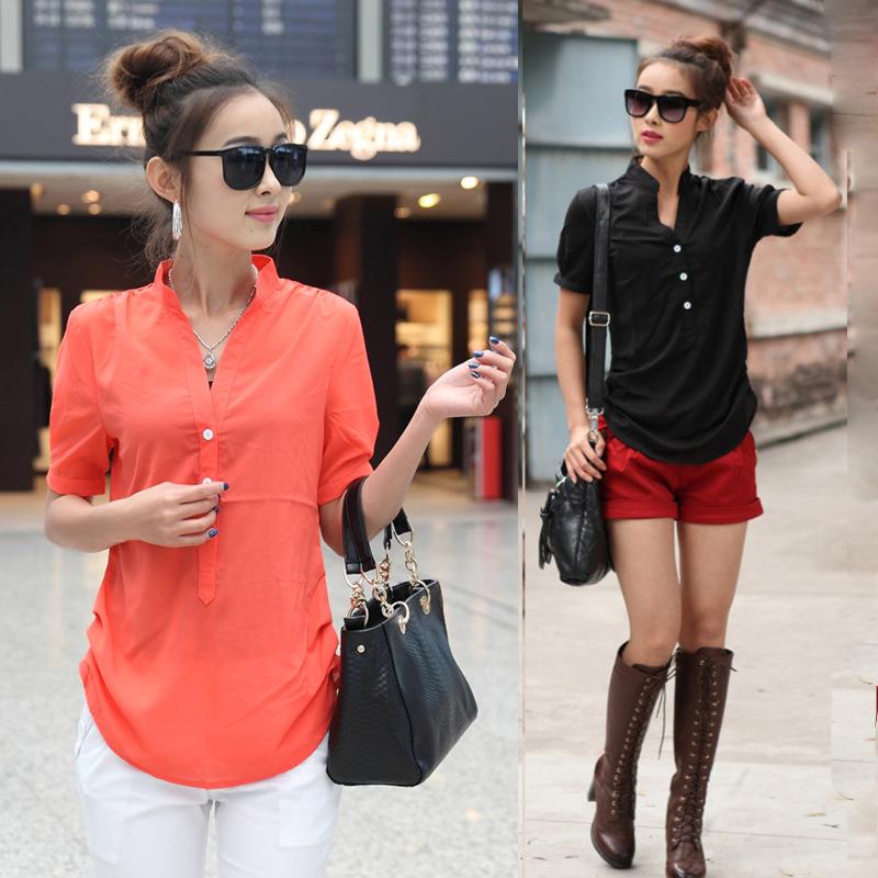 Женские блузки и Рубашки 2058 3XL 4XL 2015 Blusa Blusas Camisas Femininas женские блузки и рубашки my goal v blusa camisas blusas femininas 2015
