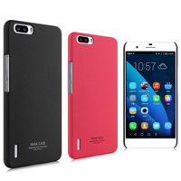 Genuine IMAK Cowboy Quicksand Shell Ultra-thin Case Skin Back Cover + Screen Protector For Huawei Honor 6 Plus Honor 6X 10pcs