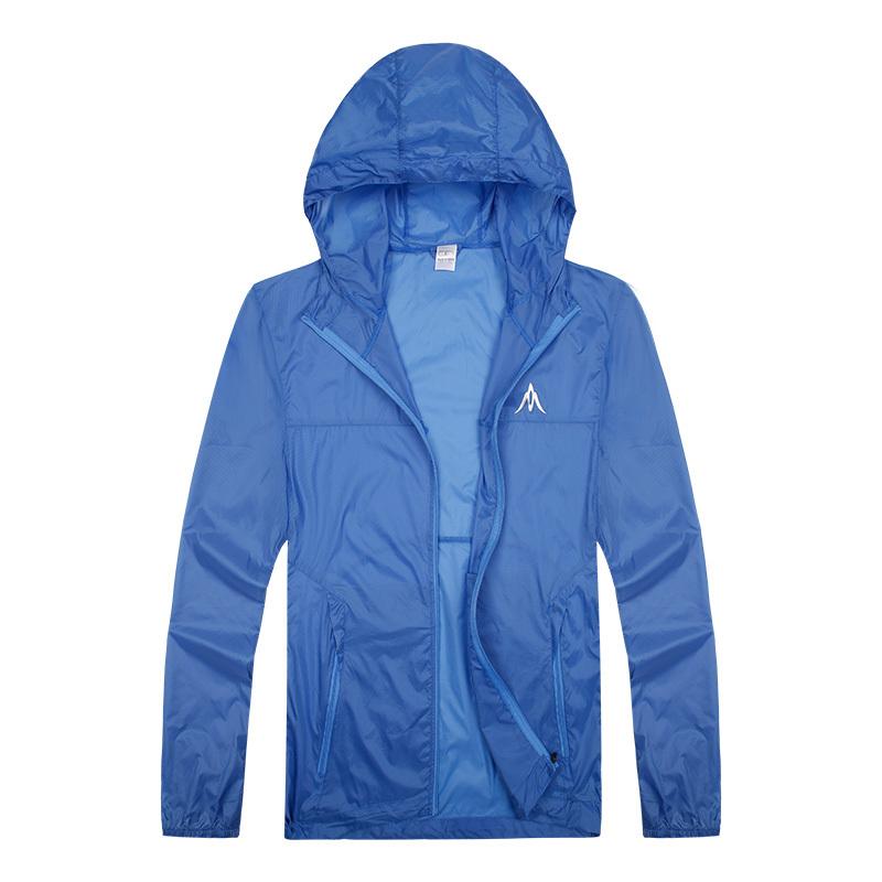 Men Women outdoor jacket camp biking hike climbing summer coat cloth chaquetas mujer summit series rain jacket free tech jacket(China (Mainland))