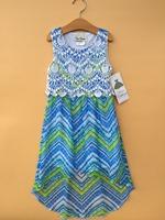 6PCS/LOT RARE EDITIONS collection 7-16T girls sleeveless chiffon dresses