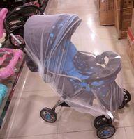 Easy use summer Infants Baby bebe Stroller Mosquito Net mesh Buggy Pram Protector Pushchair Fly Midge Insect Bug Cover portatil