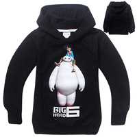 fashion 2015 kids boys sweatshirt outfit jacket coat big hero 6 children long sleeve hoodies 3-8Y