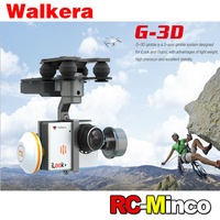 Original Walkera G-3D 3 Axis Brushless Gimbals Suit for RC Quadcopter iLook iLook+ Gorpo 3 Gopro 3 FPV Camera