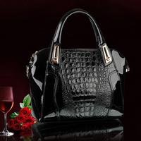 2015 New Fashion Desigual Brand Leather bolsas femininas Women Bags Pattern Handbag Shoulder Bag Female Tote Sac Crocodile Bag