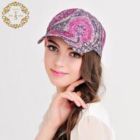 Four seasons women bohemia style baseball caps female spring and summer sun hat anti-uv beach travel cap sports cap 5colors