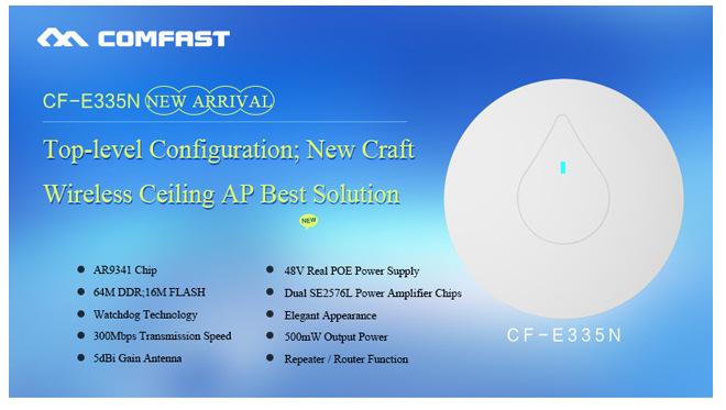 Беспроводная точка доступа 300 /ap 48V COMFAST cf/e335n POE /ap  CF-E335N пылесос aeg ap 300 elcp