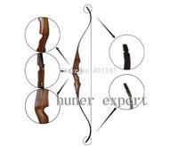 china black wood recurve bow 55lbs laminated hunting long horsebow handmade china Mongolia bow