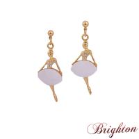New Fashion Chic Design Women Popular Shiny Crystal Rhinestone Earrings Figure Shaped Dangle Earrings Jewelry for women