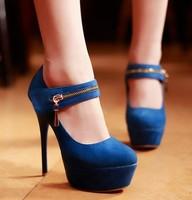 Dropshipping Newest Fashion Sexy Mary Jane Shoes High Heels Stilettos Platform Pumps Womens Wedding Shoes