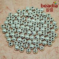 On Sale!! Tibetan Silver Round Bead Fashion Charm Metal Beads Wholesale & Retail Fit Bracelet Jewelry Making