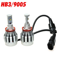 2pcs DC12-24V 30W CREE LED Headlight Xenon Hid HB3 9005 Bulb Lamp High Power Light 6500K 2000LM For VW Mazda Hyundai Toyota