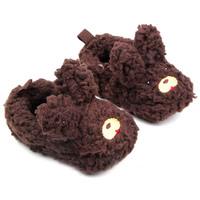 Cartoon Baby Girl Boy Toddlers Warm Plush Slippers Soft Prewalker Shoes Newborn For 12M