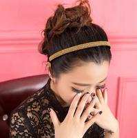 New Korean Fashion Women Girls crystal Tiara Headband Wedding Bridal hair 7 Colors