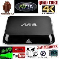 Original M8 Amlogic S802 Android TV Box Quad Core 2G/8G Mali450 XBMC/Kodi GPU 4K HDMI Dual WiFi Pre-installed APK Add ons