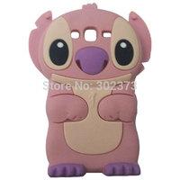 Lilo 3D Cartoon Stitch Soft Silicone Silicon Case Cover For Samsung Galaxy Grand Duos i9082 Galaxy Grand Neo i9060 Phone Case
