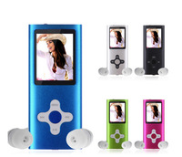 """New 8GB Slim Mp3 Mp4 Player With 1.8"""" LCD Screen FM Radio, Video, Games & Movie"""