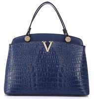 The new classical Europe and America crocodile pattern Genuine Leather bag, stylish and elegant handbag, shoulder handbag