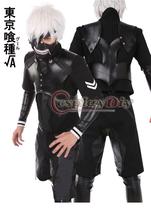 Custom Made Tokyo Ghoul la deuxième saison Kaneki Ken bataille Costume Costume uniforme Anime Cosplay Costume(China (Mainland))