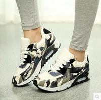 Free shipping sneakers women shoes sport casual platform sneakers elevator shoes sneakers for women WA4019