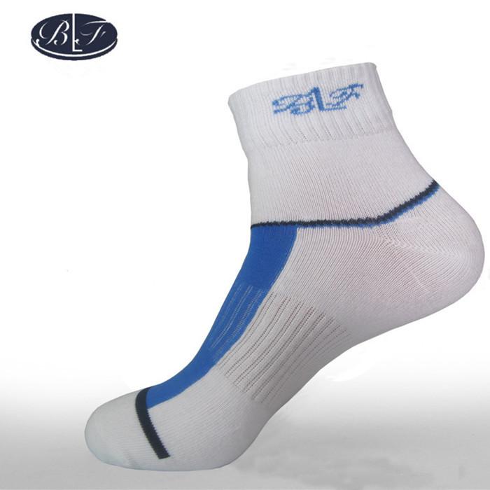 Bamboo Fiber Men's Sports Winter Socks Deodorization Athletic Wicking Anti-microbial Mens Breathable Basketball Socks H Quality(China (Mainland))