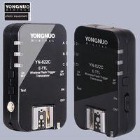Yongnuo YN 622C Wireless ETTL HSS 1/8000S Flash Trigger 2 Transceivers for  1100D 1000D 650D 600D 550D 7D 5DII 50D