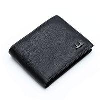 100% Cow Genuine Leather Men Wallets Designer Purse Famous Brand Men Short Wallet Top Purse For Men zx-d1203-29